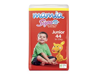 Mamia Unisex Junior Nappies 16-25kg 44pk