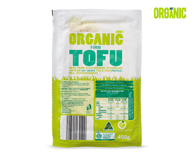 Just Organic Firm Tofu 450g