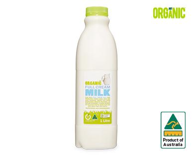 Just Organic Milk 1L