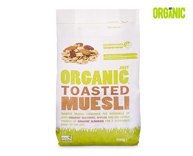 Just Organic Toasted Muesli 500g