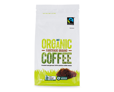 Just Organic Ground Coffee 250g