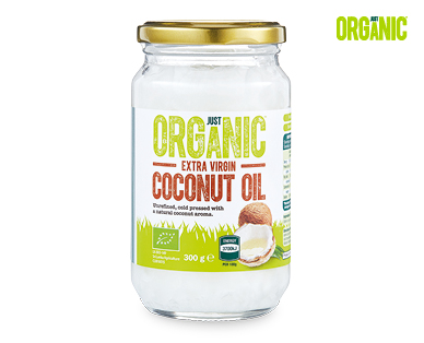 Just Organic Extra Virgin Coconut Oil 300g - ALDI Australia