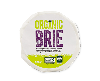 Just Organic Brie 125g