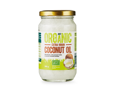 Just Organic Extra Virgin Coconut Oil 300g