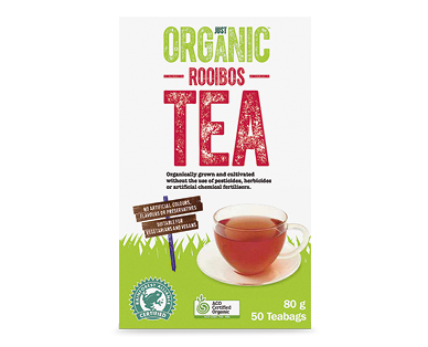 Just Organic Rooibos Tea 50pk/80g