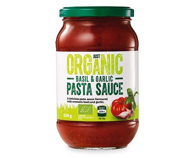 Just Organic Pasta Sauces 500g Aldi Australia