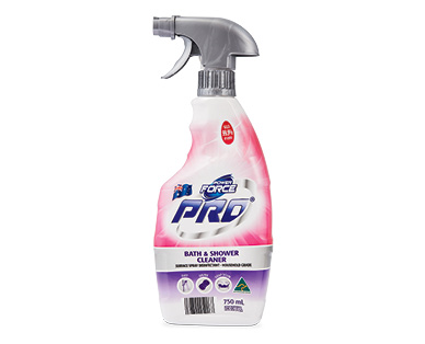 Power Force Pro Bath & Shower Cleaner 750ml