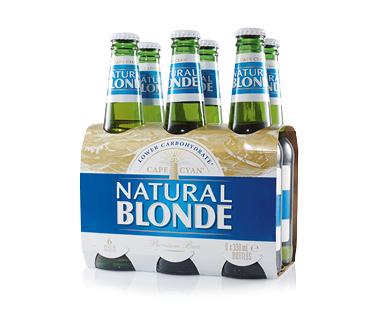 Cape Cyan Natural Blonde Beer 6 x 330mL