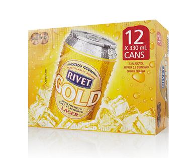Rivet Gold 12pk