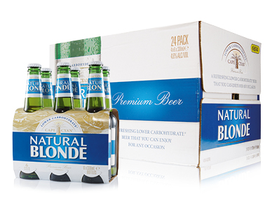 Cape Cyan Natural Blonde Beer 24 x 330mL
