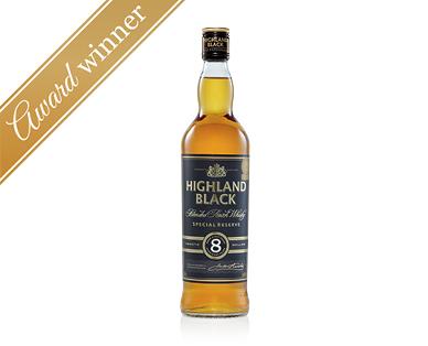 Highland Black 8YO Blended Scotch Whisky 700mL