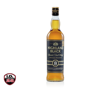 Highland Black 8YO Scotch Whisky 700ml