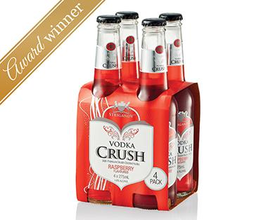 Striganov Vodka Crush Raspberry 4pk