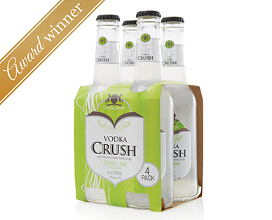 Striganov Vodka Crush Lemon Lime 4pk