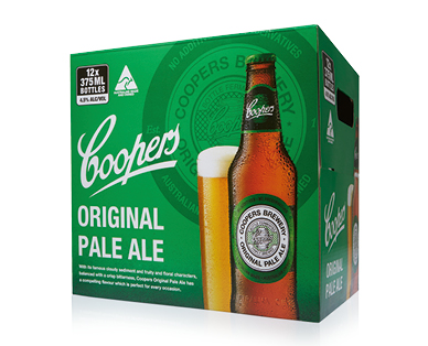 Coopers Original Pale Ale 12 x 375mL