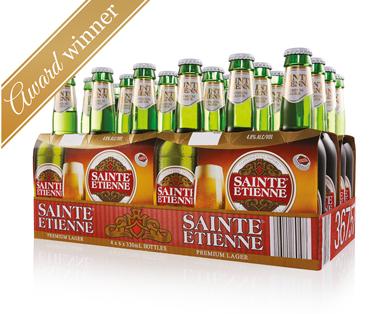 Sainte Etienne Imported Premium Lager 24 x 330mL