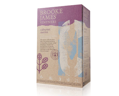 Brooke James Vitners Premium Cabernet Merlot Cask 2L