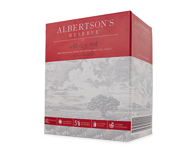 Albertson's Reserve Soft Dry Red Cask 4L