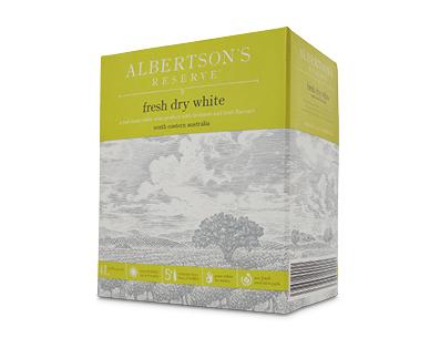 Albertson's Reserve Crisp Dry White Cask 4L