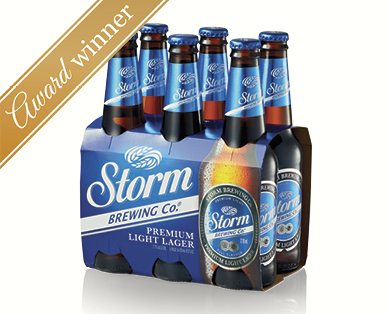 Storm Brewing Co. Premium Light Lager 6 x 330mL