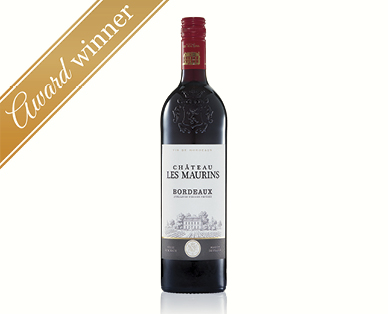 Chateau Les Maurins Bordeaux Cabernet Sauvignon & Merlot