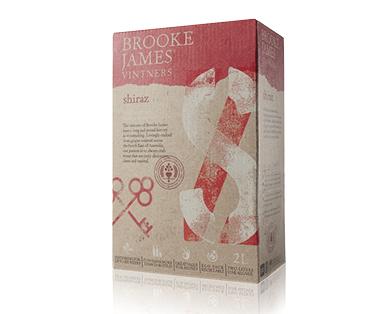 Brooke James Vintners Shiraz Cask 2L