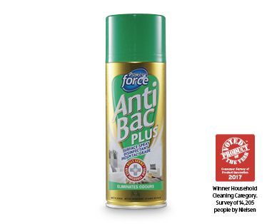 Power Force Anti Bac Plus Surface Spray Disinfectant 300g