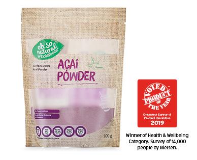 Oh So Natural Superfood Powders Acai 100g