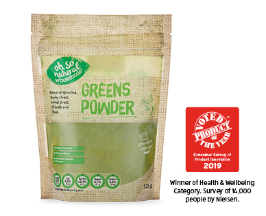 Oh So Natural Superfood Powders Greens 125g