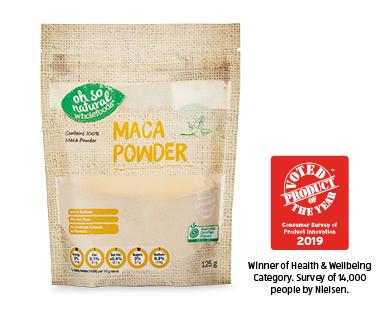 Oh So Natural Superfood Powders Maca Powder 125g