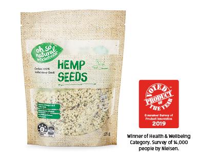 Oh So Natural Superfood Powders Hemp Seeds 125g