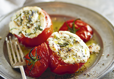 Ricotta Amp Spinach Stuffed Tomatoes Recipe Aldi Australia