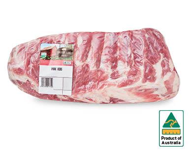 Ironbark Pork Ribs per kg