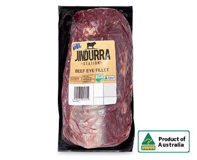 Jindurra Station Beef Eye Fillet