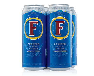 Foster's Classic Lager 4 x 500ml