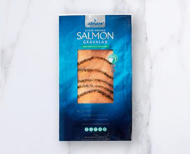 Almare Salmon Gravalax With Dill Sauce 200g