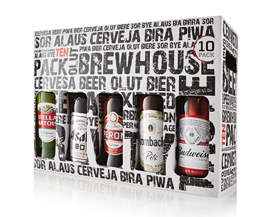 Premium Imported Beer Gift Pack 10 x 330ml