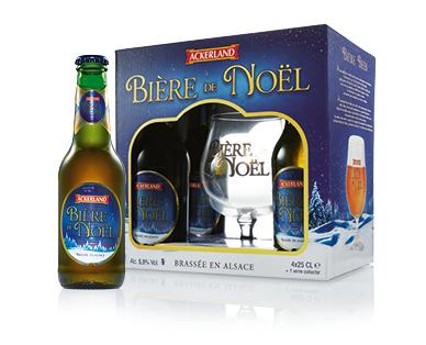 Ackerland Bière de Noël Gift Pack 4 x 250ml