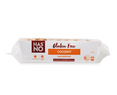 Has No Gluten Free Coconut Macaroon 160g