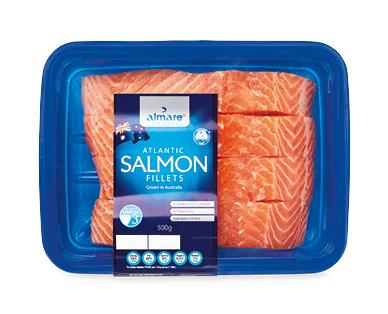 Almare Salmon Fillets 500g / 4pk