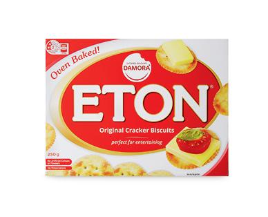Damora Satisfied Snacking Eton Crackers 250g