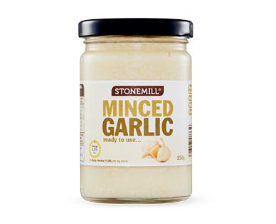 Stonemill Minced Garlic 250g