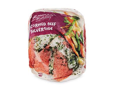 Brannans Butchery Corned Beef Silverside per kg