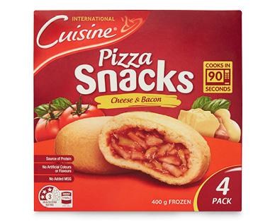 International Cuisine Pizza Snacks 4pk/400g