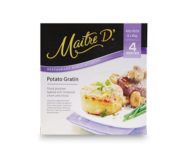 Maitre D' Potato Gratin 400g