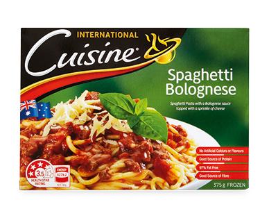 International Cuisine Spaghetti Bolognese 375g