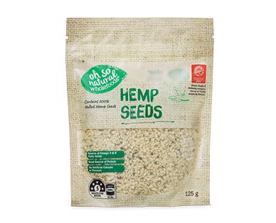 Oh So Natural Hemp Seeds 125g