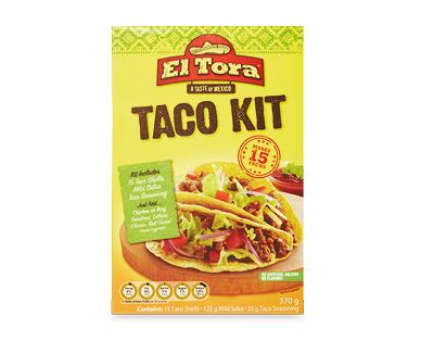 El Tora Taco Kit 370g