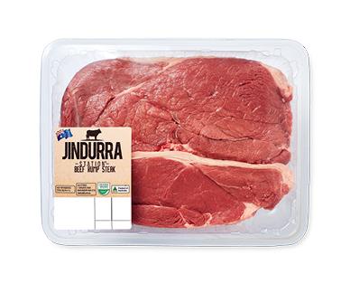 Jindurra Station Beef Rump Steak per kg