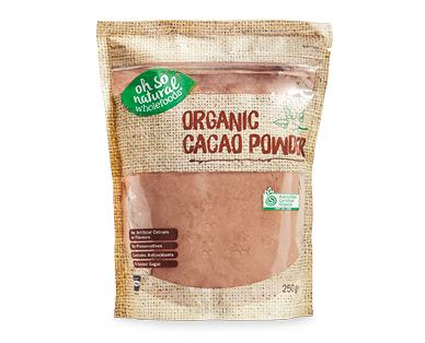 Oh So Natural Cacao Powder 250g